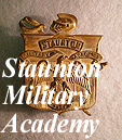 Staunton Military Academy Hat Plate